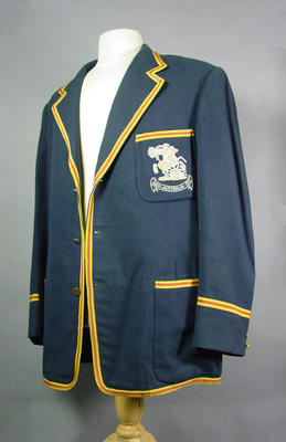 English Touring Blazer worn by Alec Bedser, 1950-51; Clothing or accessories; M5770