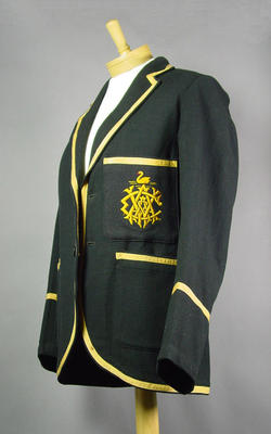 Western Australian Cricket Association blazer, worn by William Horrocks