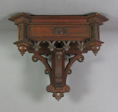 Wall support for clock, Lenzkirch c1873