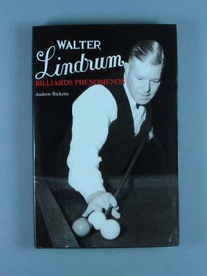 "Book, ""Walter Lindrum - Billiards Phenomenon"""