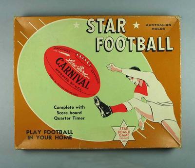 "Board game, ""Star Football"" c1960s"