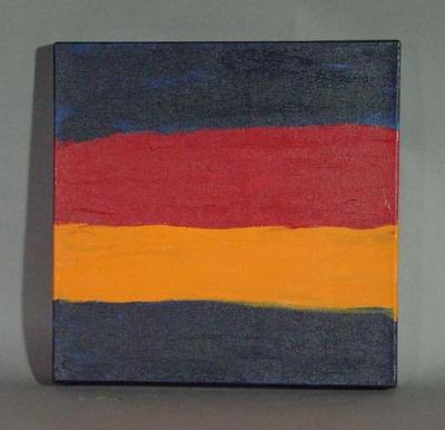 """Painting, """"Geelong Nothing! No Wumpurani (young black fellas) Play for Cats"""" - Adelaide Crows FC"""