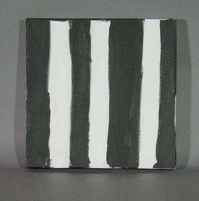 """Painting, """"Geelong Nothing! No Wumpurani (young black fellas) Play for Cats"""" - Collingwood FC"""