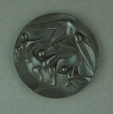 Commemorative medal, 1964 Tokyo Olympic Games