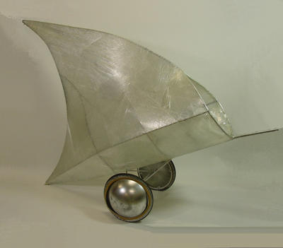 Shark fin golf cart, used during Sydney 2000 Olympic Games Closing Ceremony