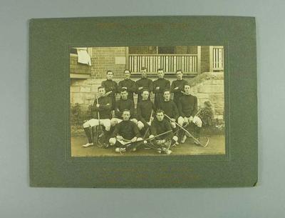 Photograph of Kyneton Lacrosse Club, 1912