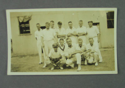 Photograph - MCC XI at Kyabram c. 1933 / 1934
