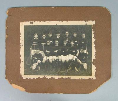Photograph of Kooyong Lacrosse Club, 1909