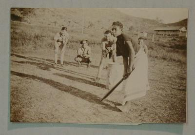 Photograph of RAAF playing cricket in Papua New Guinea, 1942
