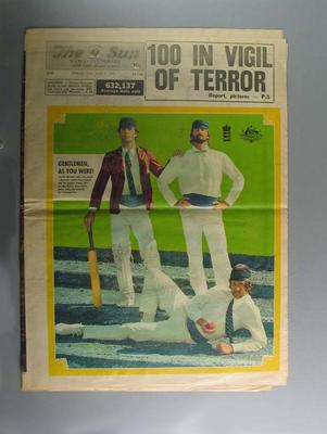 "Newspaper, ""The Sun"" - 11 March 1977"