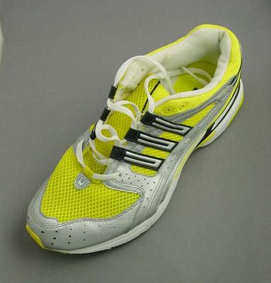 Running shoe, worn by Nick Harrison at 2004 Athens Olympic Games