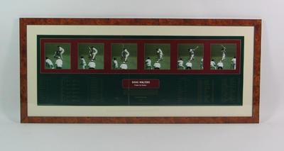 "Print, ""Doug Walters - Frame by Frame"""
