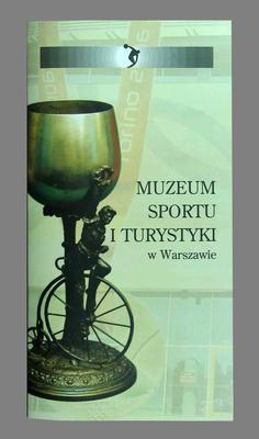 Pamphlet, Museum of Sport and Tourism in Warsaw