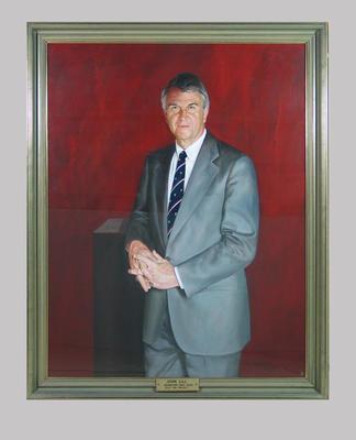 Portrait of John Lill, artist Wes Walters