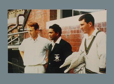 David Sincock, Hanif Mohammad and Ian Chappell, Pakistan's 1st Australian tour 1964