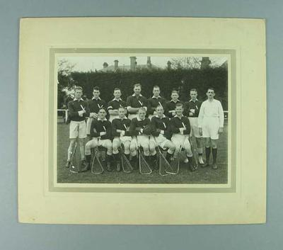 Photograph of Victorian lacrosse team, 1930