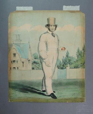 English cricketer - Alfred Mynn Esq