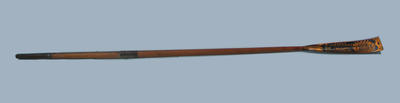 Oar used in the first public schools Eight Oared Race  in Australia, 1899