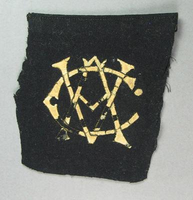 Blazer pocket, Victorian Cricket Association c1920-30