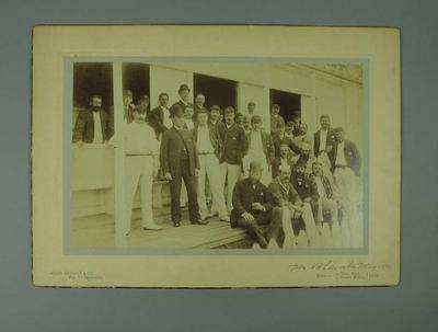 Photograph - W.H. Laverton's XI and Australian XI, Westbury May 1890; Photography; M7628