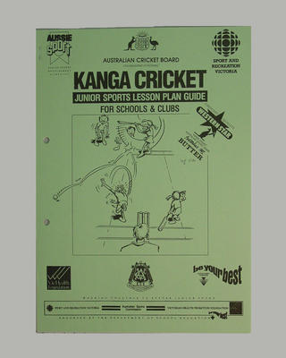 ACB Guide: Kanga Cricket Junior Sports Lesson Plan for Schools and Clubs; Documents and books; M7365