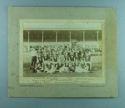 Photograph of Victorian Running Team, c1900s; Photography; 1987.1690.16