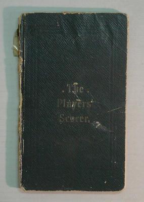 Score book, McConchie Cricket Club - 1908-09 season; Documents and books; M7549.3