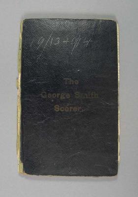 Score book:   McConchie Cricket Club - 1913-14 season