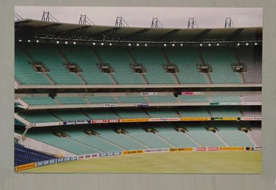 Photograph: Melbourne Cricket Ground & Great Southern Stand - February 1992