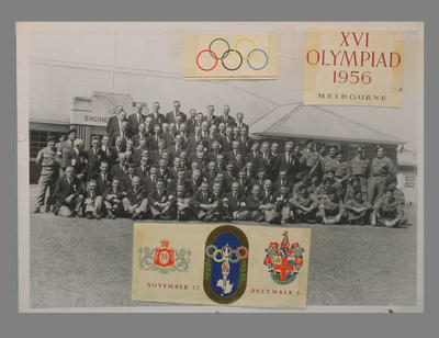 Photograph of Royal Australian Engineers, 1956 Olympic Games Melbourne