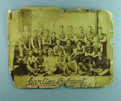 Photograph of Carlton Belmont FC, Season 1890