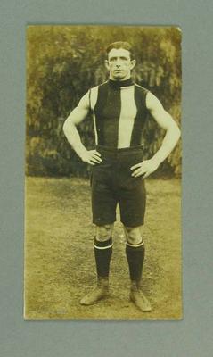 Photograph of St Kilda FC player, c1900s