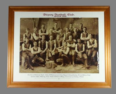 Photograph of Fitzroy FC, 1890