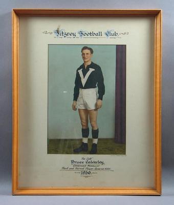 Photograph of Bruce Calverley, 1936 Gardiner Medallist
