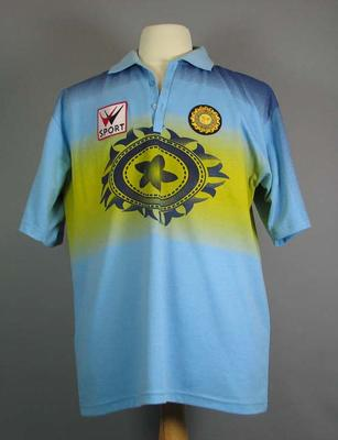 Shirt worn by Kapil Dev during 1999/2000 Australia v India One Day Series