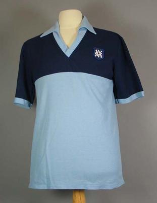 Light blue cricket shirt - Victorian McDonald's Cup 1985-1986