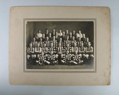 Photograph of East Brunswick FC, 1934; Photography; 1988.1910.34