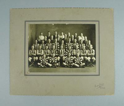 Photograph of East Brunswick FC, 1934; Photography; 1988.1910.38