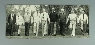 Photograph of Fitzroy FC 1944 Premiership Team, c1980