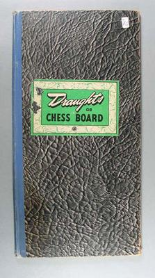 Board game, Draughts or Chess Board