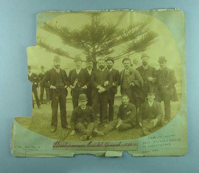 Photograph of Carlton Football Club, 1893