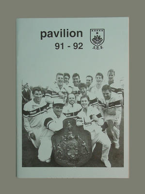 """Magazine, """"Pavilion"""" - season 1991/92"""