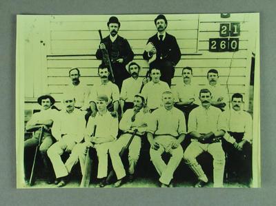 Photograph: Ferntree Gully Cricket Team 1892