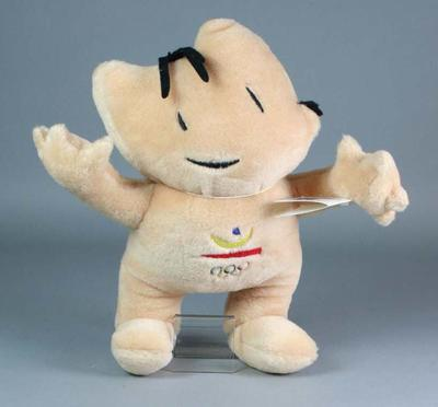 Official mascot of the 1992 Barcelona Olympic Games - 'Cobi' the dog