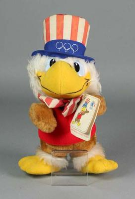 Soft toy - Sam the Eagle, 1984 Los Angeles Olympic Games mascot