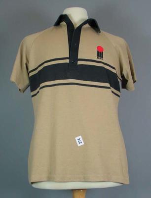New Zealand World Series Cricket team shirt worn by Ian Smith, season 1977/78
