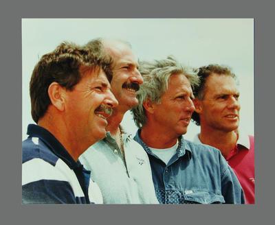 Photograph of Rod Marsh, Dennis Lillee, Jeff Thomson & Greg Chappell