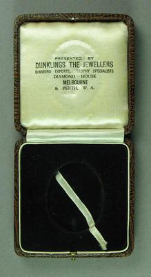 Case for a medallion
