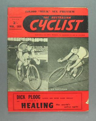 "Magazine, ""The Australian Cyclist"" Mar 1959"