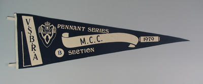Pennant - V.S.B.R.A. Pennant Series, M.C.C. B Section 1979